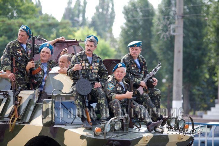 День ВДВ 2013. Луганск