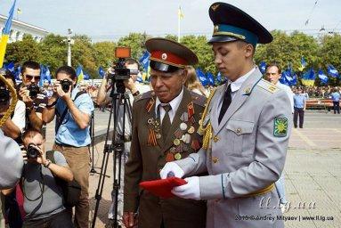 Празднование 70-тилетия освобождения Луганщины от фашистких захватчиков