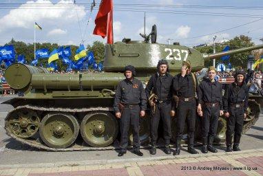 Танк Т-34. Луганск